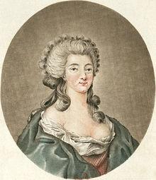 Jeanne de Valois-Saint Rémy, devenue comtesse de La Motte par son mariage avec Nicolas de La Motte.