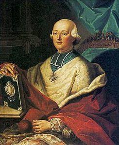 Un portrait du cardinal de Rohan.